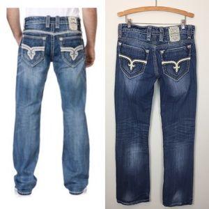 Rock Revival Rogan Boot Jeans 32
